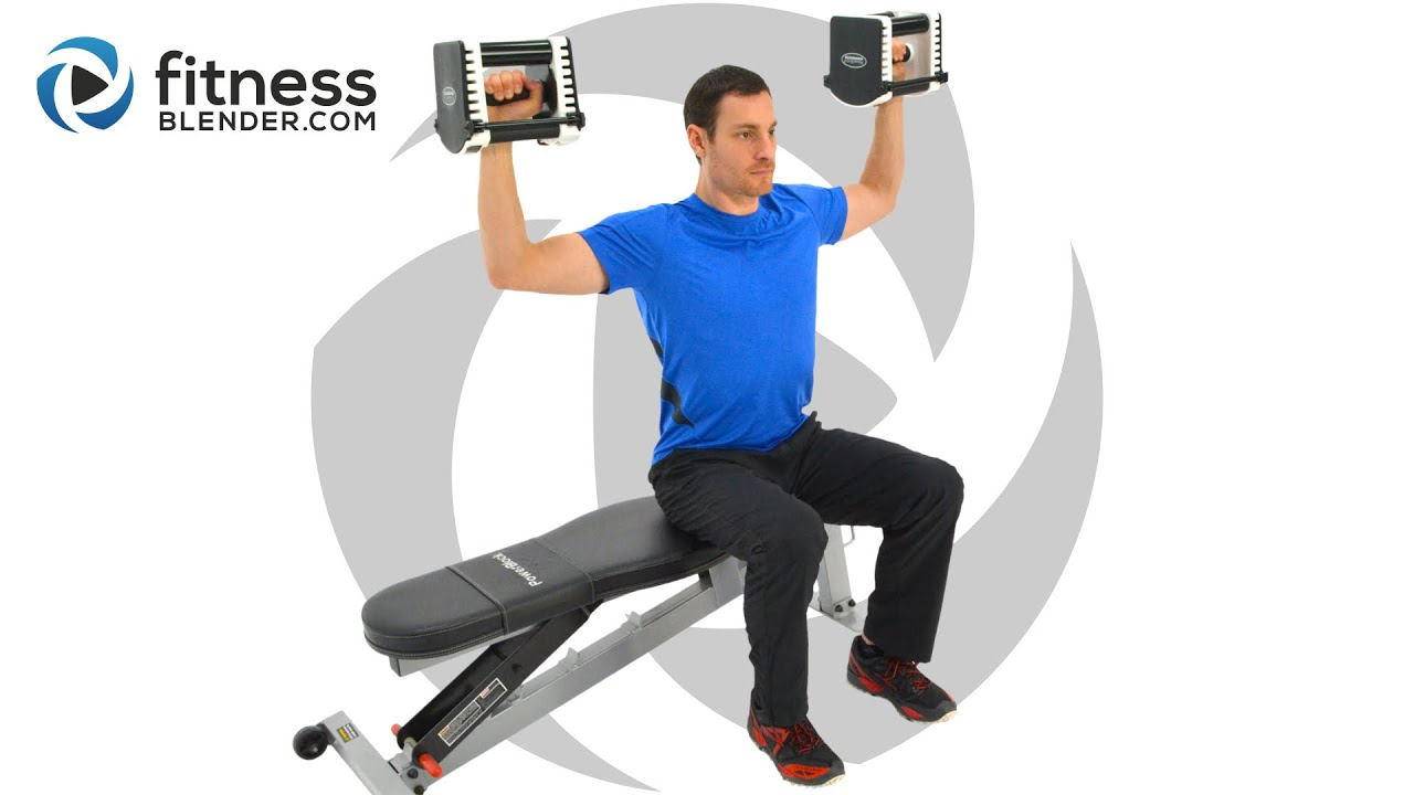 Upper Body Split Workout - Shoulders and Lats Mass Building Video