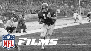 #4 Ed Podolak Runs Wild Against Dolphins (1971) | NFL Films | Top 10 Playoff Performances