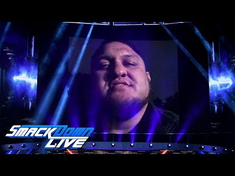 Samoa Joe invades AJ Styles' home: SmackDown LIVE, Sept. 25, 2018