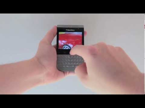 Porsche Design BlackBerry P'9981 Hands-on