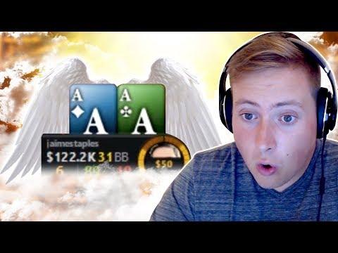 HEAVEN SENT ACES DEEP IN THE $215 THURSDAY THRILL!!! |  PokerStaples Stream Highlights
