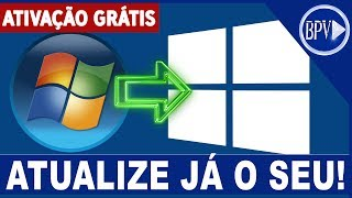 Como ATUALIZAR do Windows 7 para o Windows 10 de Graça!