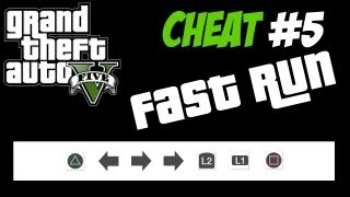 GTA 5 Trucchi #5 - CORSA VELOCE [PS3 Xbox 360 HD ITA] Cheat Fast Run