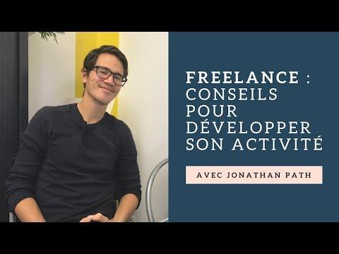 Travailler en freelance (et gagner 840€/jour) avec Jonathan Path