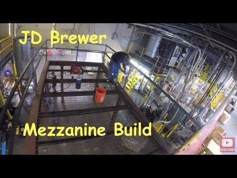 Apex Welding Mezzanine Build