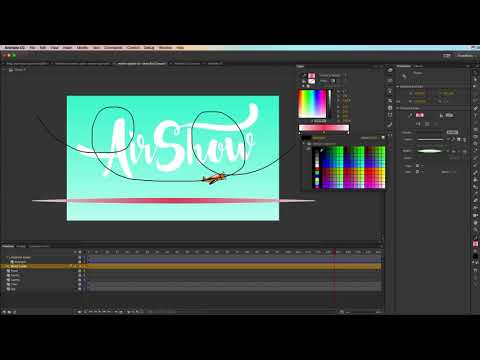 Animate CC Creating Motion Guides