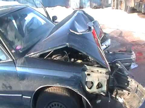Michael Kidder accident....this is the car mike cr...