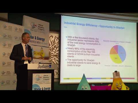 Mr. Stephane le Gentil at the 3rd Annual Water & Energy Congress