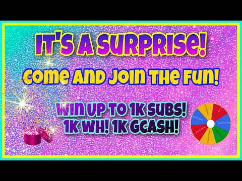 It's a Surprise! Come Join the Fun!