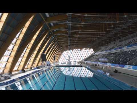 Места, где стоит побывать. Казанский Дворец водных видов спорта