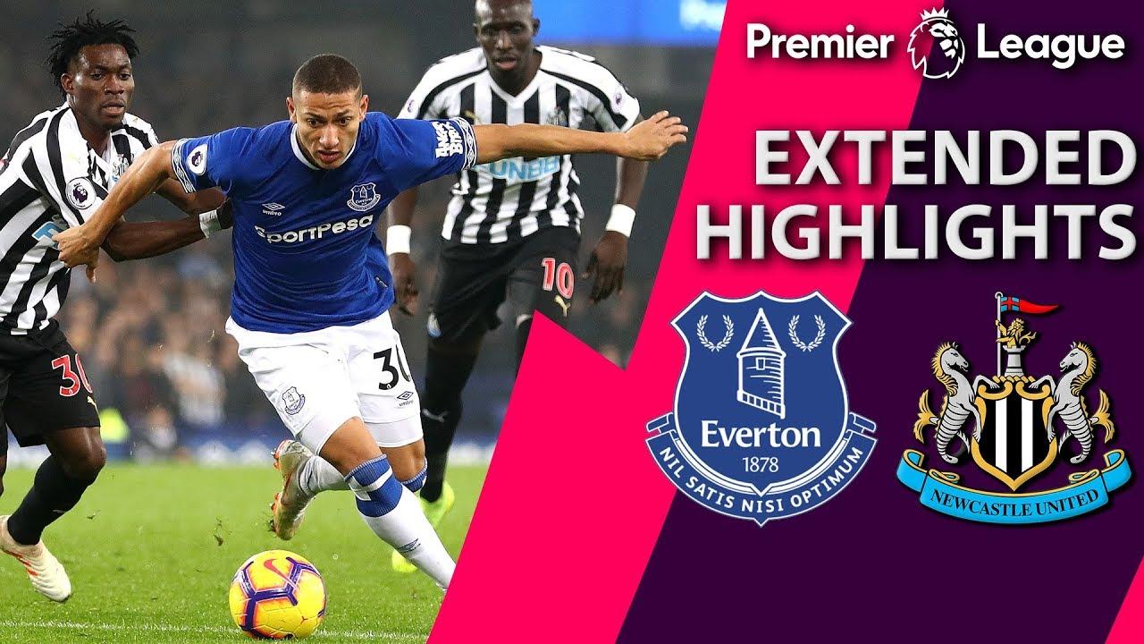 Everton v. Newcastle I PREMIER LEAGUE EXTENDED HIGHLIGHTS ...