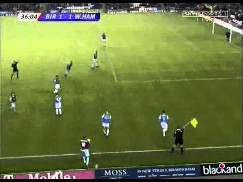 Bobby Zamora Goal - Birmingham City 1 West Ham United 2 - Premiership (5/12/05)