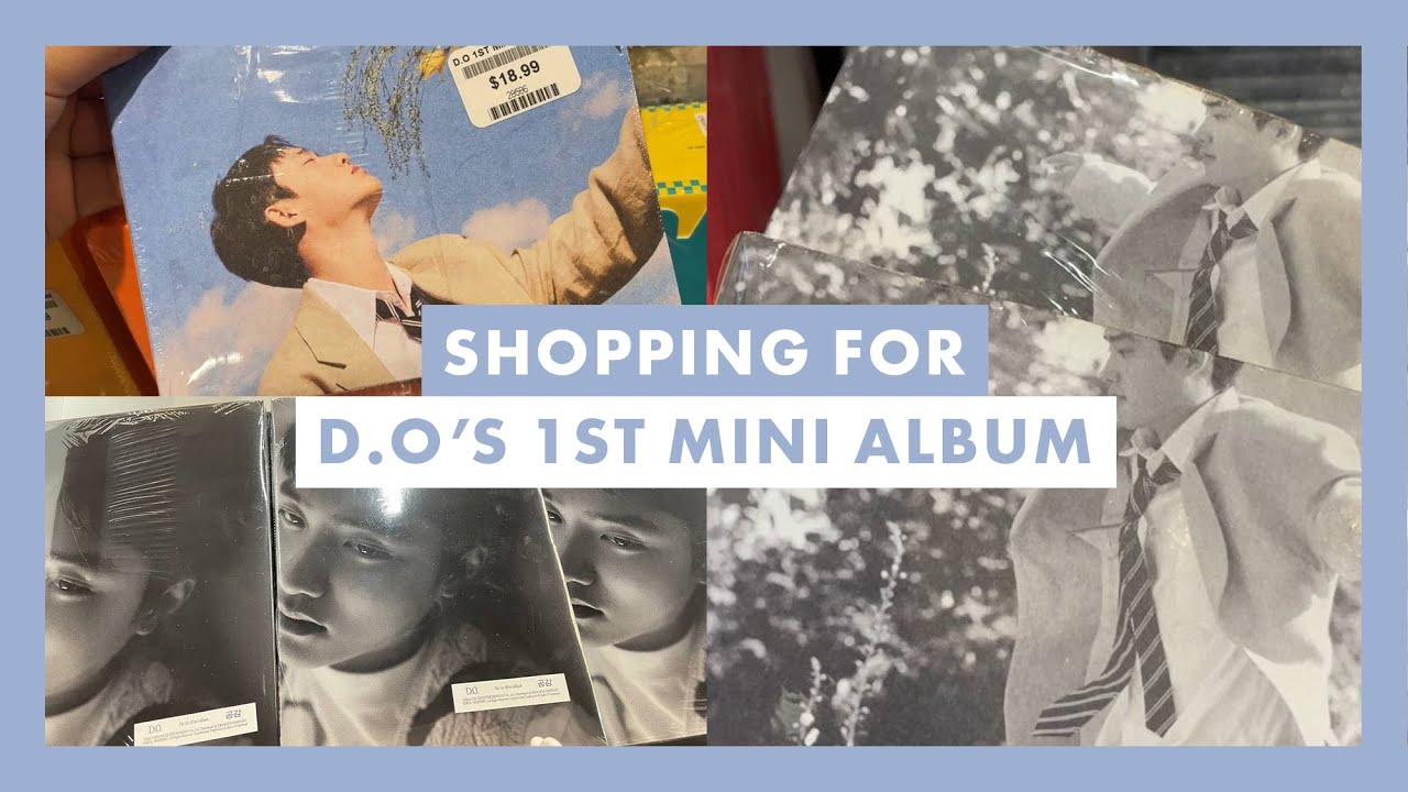Shopping For D.O's 디오 1st Mini Album 'Empathy' ♡ All Versions + Unboxing 2 Copies