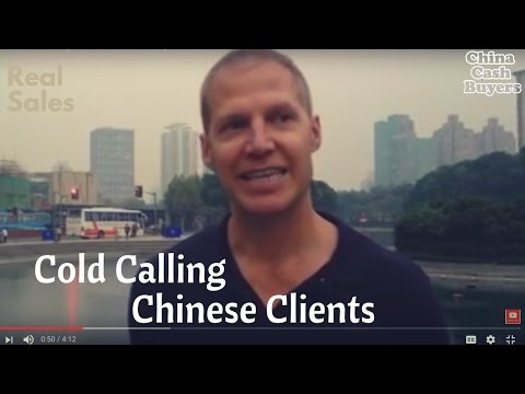 Real Estate Marketing in China: Cold Calling in China