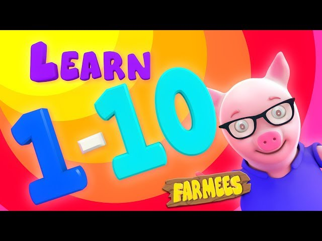 Numbers Song | Counting 1 to 10 | Preschool Learning Videos For Children