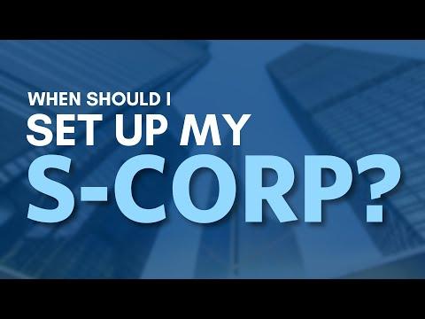 When to Set Up an S-Corporation | Mark J Kohler | Tax & Legal Tip