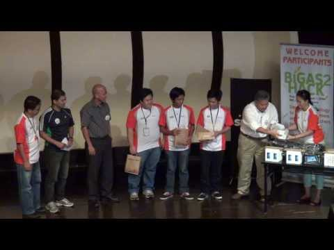 Winners of the Bigas2 Hack at IRRI (1 September 2013)