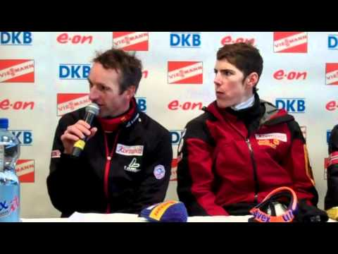 Christoph Sumann And Tobias Eberhard - Hochfilzen Relay