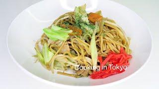 ЯКИСОБА РЕЦЕПТ! Японская кухня дома. 焼きそば Быстро и вкусно!