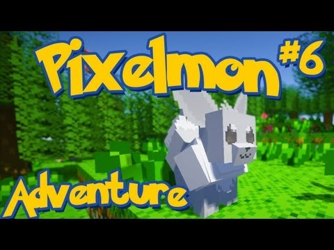 Pixelmon Minecraft Pokemon Mod! Adventure Server Series! Episode 6 - xRpmx13 and His Shiny Eevee