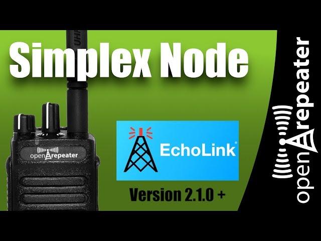 OpenRepeater - Simplex/Echolink Node