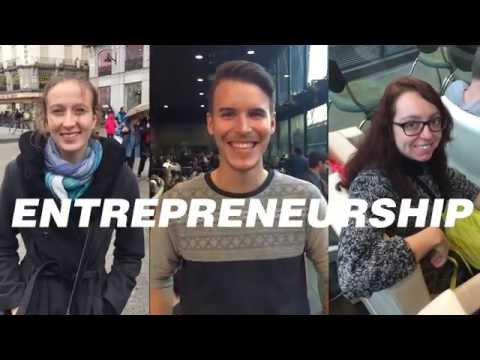 OptionE ESCP Europe Madrid I 4 months to UNLEASH your inner ENTREPRENEUR