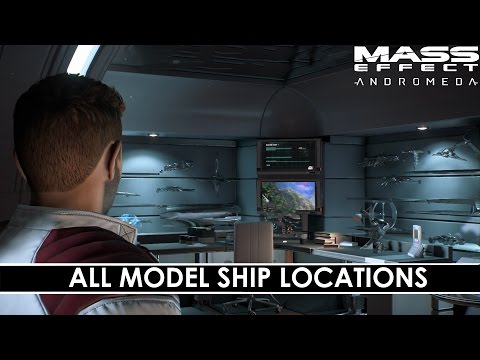 Mass Effect: Andromeda - All Model Ship Locations [Tempest Trophies]