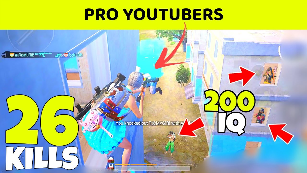Download 😤 IND AKHIL vs PRO YOUTUBER SQUAD - 200 IQ BGMI GAMEPLAY