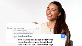 Madison Beer Answers the Web's Most Searched Questions | WIRED