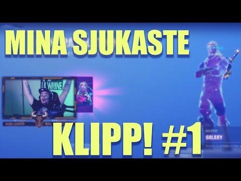 MINA SJUKASTE KLIPP! #1 | Fortnite på Svenska