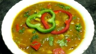 potato capsicum masala curry