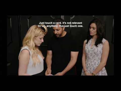 "Emmy Rossum on ""David Blaine: Real or Magic"""