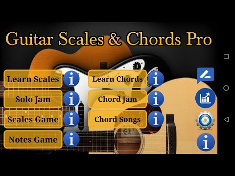 Guitar Scales & Chords Free 1