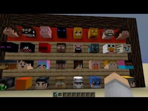 Как получить любую голову игрока в Minecraft! БЕЗ ПЛАГИНОВ!!!
