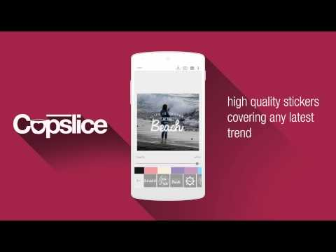 Cupslice Photo Editor - Teaser Promo