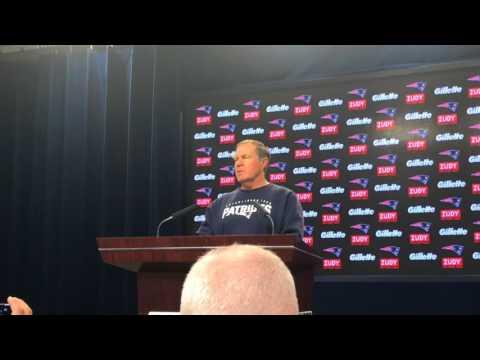Patriots Coach Bill Belichick On Start Of 2017 Training Camp