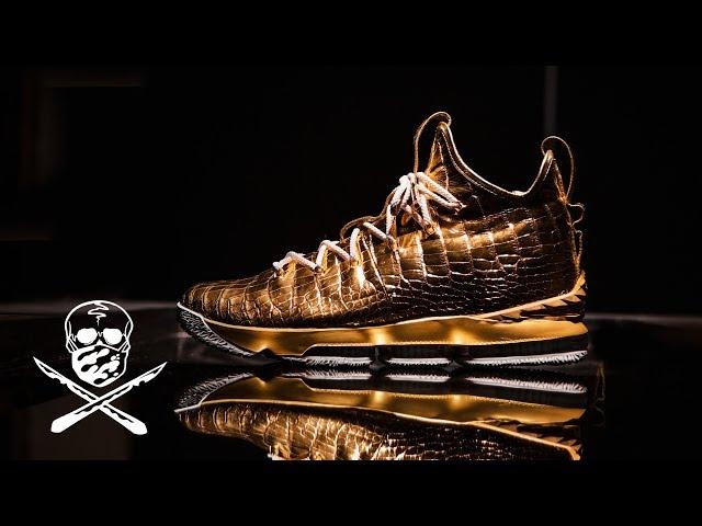 c583950b1d0 LeBron James gets custom signature shoe worth  100K