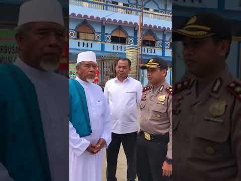 """Kapolsek Sunggal """"Bersama Kita Wujudkan Pilkada Yang Kondusif Di Provinsi Sumatera Utara"""""""