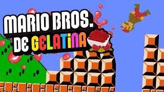 MARIO BROS DE GELATINA