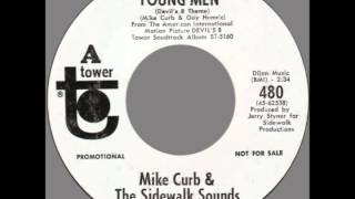 "Mike Curb & The Sidewalk Sounds -- ""8 Young Men"" (Tower) 1969"