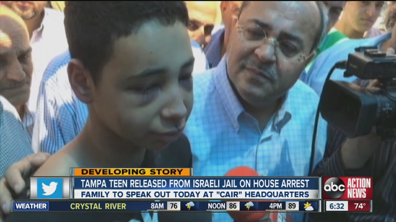Beaten Arab American teen sent to house arrest | The Times