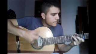 los delinquentes poeta encadenado maqueta cover guitarra