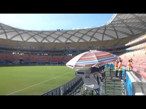 tourist places in manaus brazil inside stadium arena da Amazonia touristattractionstv