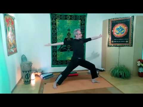 Yoga Stunde Mittelstufe
