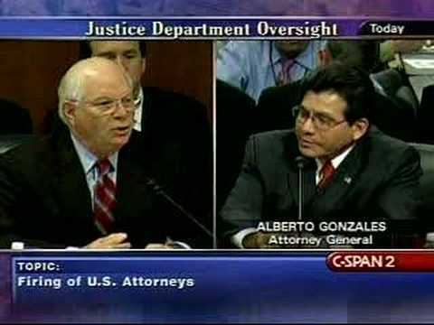 Senate Judiciary Committee w/Alberto Gonzales-7/24/07 Pt12