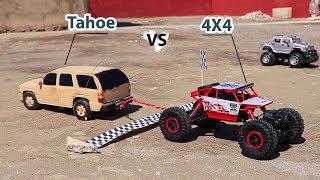 Homemade RC TAHOE VS 4WD Rock Crawler