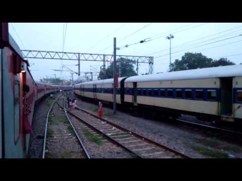 Mahabodhi Sf exp 12398 WCB to GAYA JN PF3 (part2) || INDIAN RAILWAYS ||