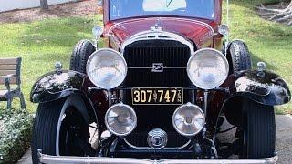1931 Buick Model 87 Four Door Sedan RedBlk LakeMirror101516