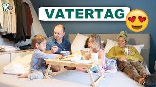 Frühstücken im Bett zu fünft  - Vatertags Kirmes  - Vlog#1133 Rosislife