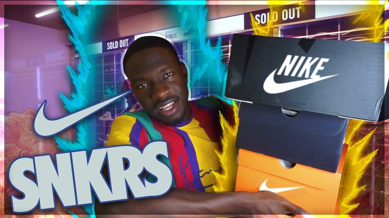 Nike SNKRS Atlanta Pop Up Shop Pick Up Vlog🔥! Spending over $600💰!
